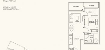 clavon-clementi-condo-1-bedroom-floor-plan-type-a1-singapore