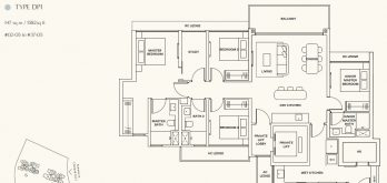 clavon-clementi-condo-4-bedroom-floor-plan-type-dp1-singapore